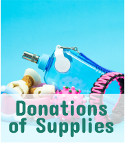 Donations of Supplies